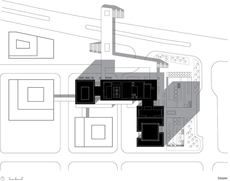 广州唯品会新一代办公空间平面图