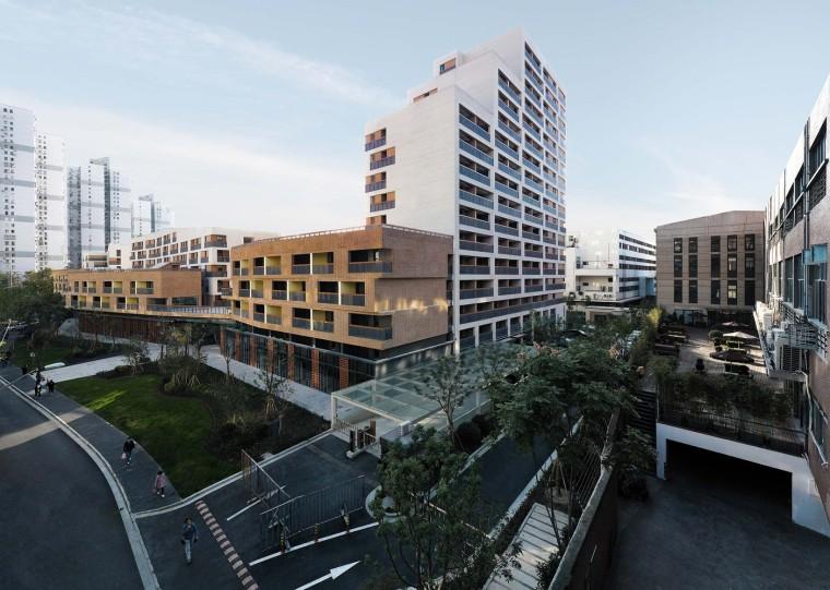 上海黄浦区五里桥路公租房外部实景图