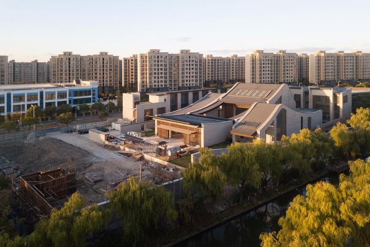 上海浦东国庆寺外部实景图1