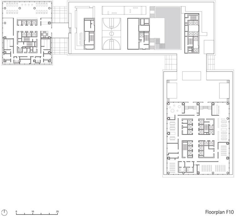 广州唯品会新一代办公空间平面图43