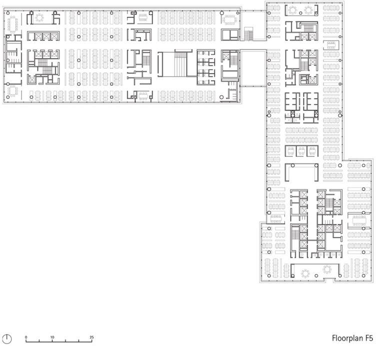 广州唯品会新一代办公空间平面图23