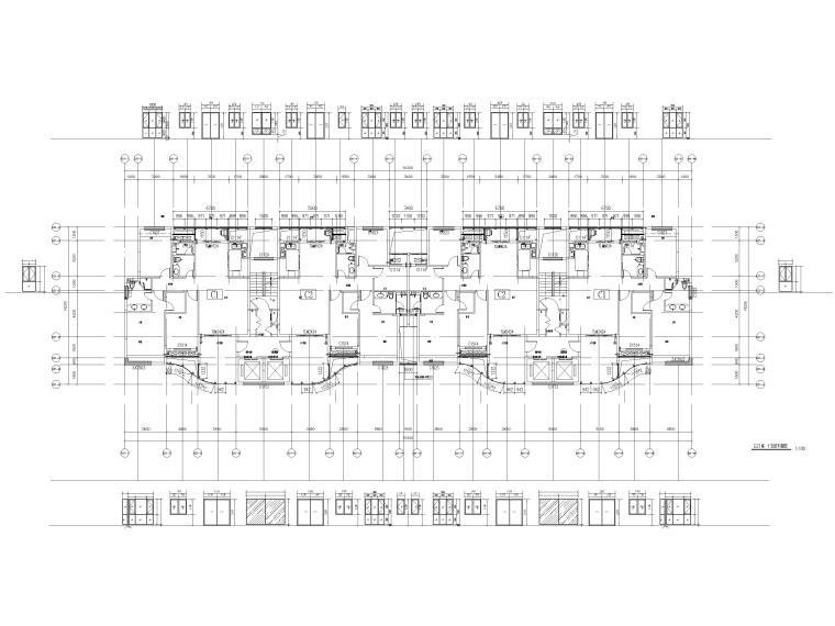 [汕头]住宅小区幕墙设计施工图2017-楼层平面图