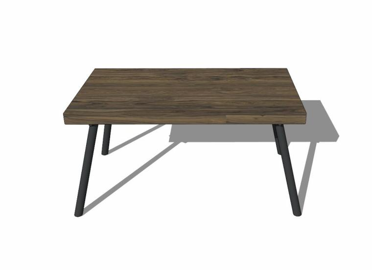34个工业风格室内茶几+桌模型设计 (4)