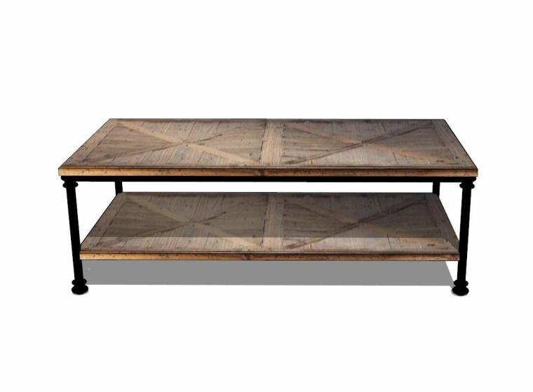 34个工业风格室内茶几+桌模型设计 (6)
