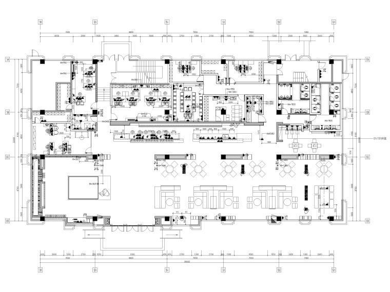 [广东]909㎡时代云图售楼处装修设计施工图-20201203_171833_003