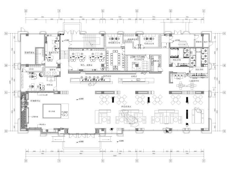 [广东]909㎡时代云图售楼处装修设计施工图-20201203_171833_000