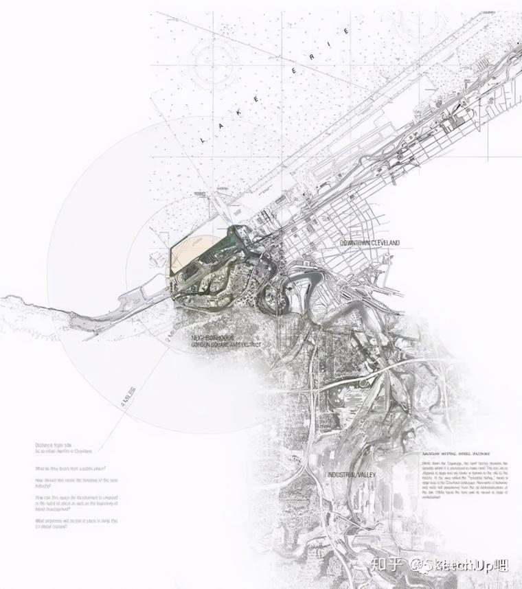 如何画出高端大气的建筑设计方案分析图?_3