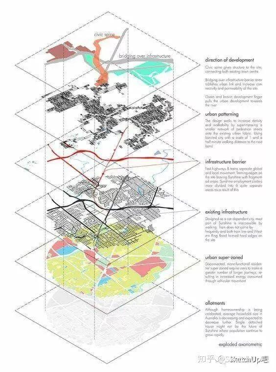 如何画出高端大气的建筑设计方案分析图?_8