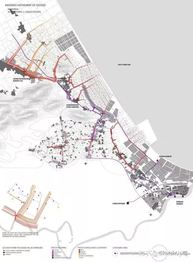 如何画出高端大气的建筑设计方案分析图?_11