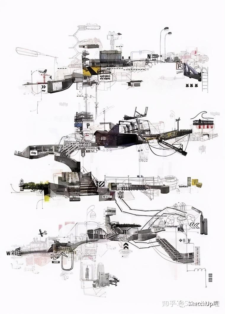 如何画出高端大气的建筑设计方案分析图?_19