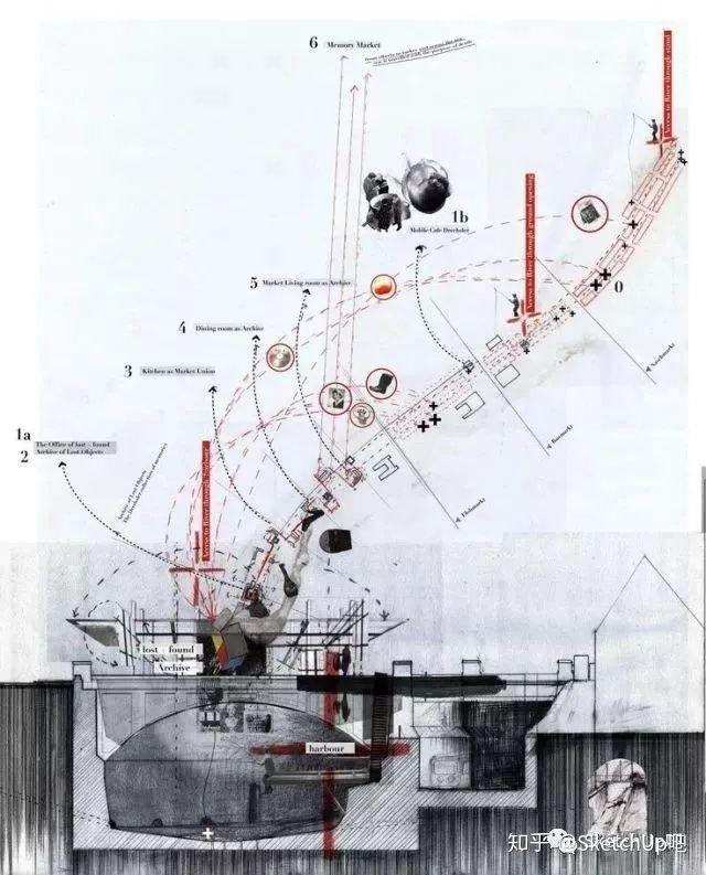 如何画出高端大气的建筑设计方案分析图?_20