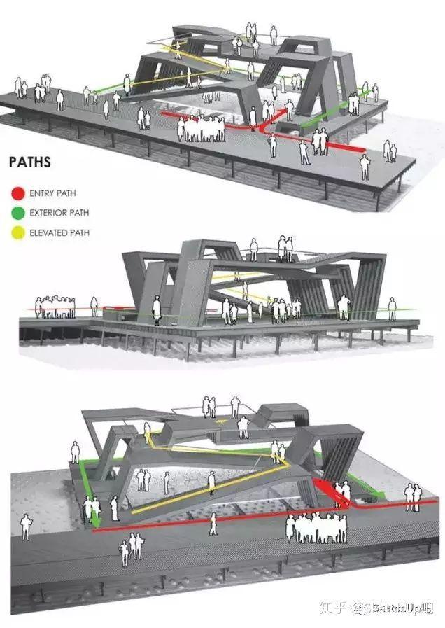 如何画出高端大气的建筑设计方案分析图?_26