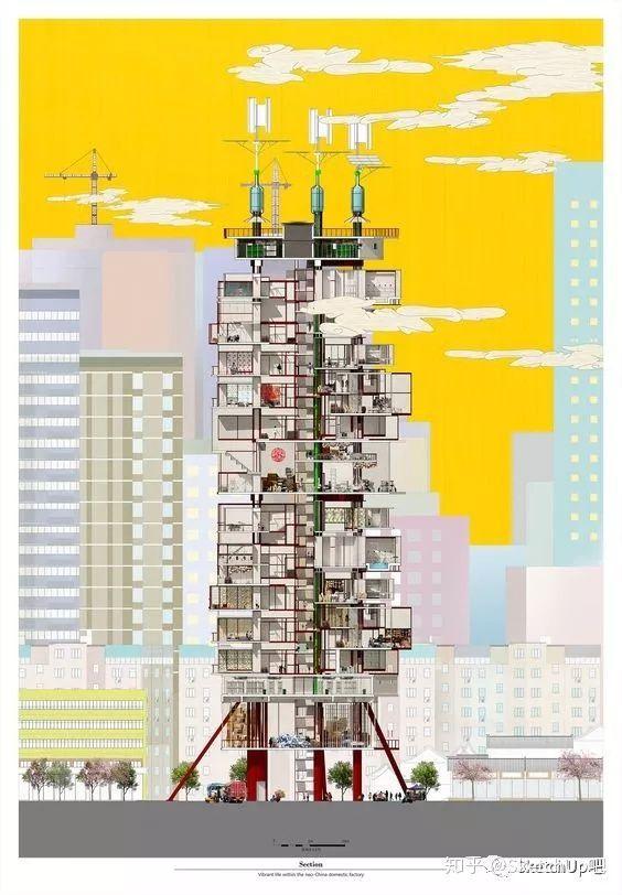 如何画出高端大气的建筑设计方案分析图?_24