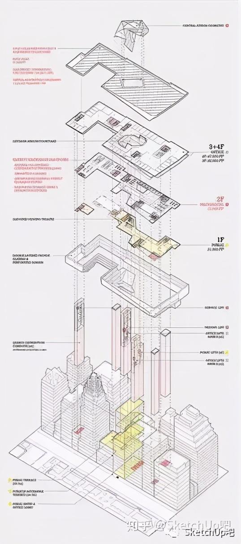 如何画出高端大气的建筑设计方案分析图?_25