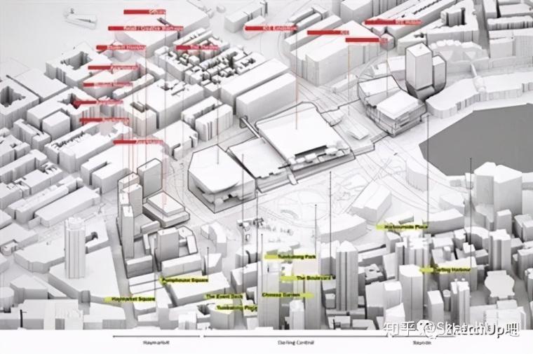 如何画出高端大气的建筑设计方案分析图?_33