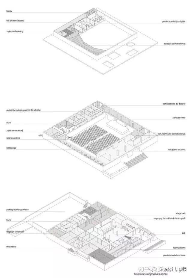 如何画出高端大气的建筑设计方案分析图?_35
