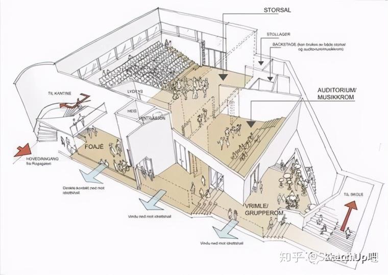 如何画出高端大气的建筑设计方案分析图?_41