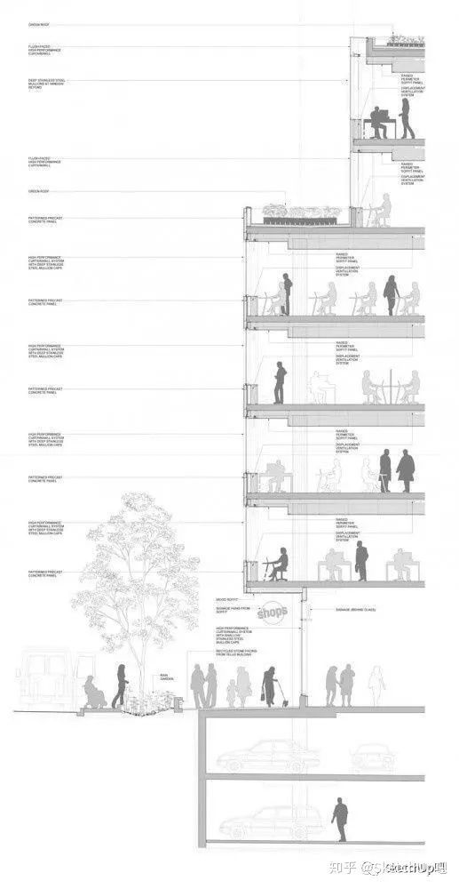 如何画出高端大气的建筑设计方案分析图?_44