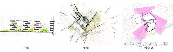 如何画出高端大气的建筑设计方案分析图?_47