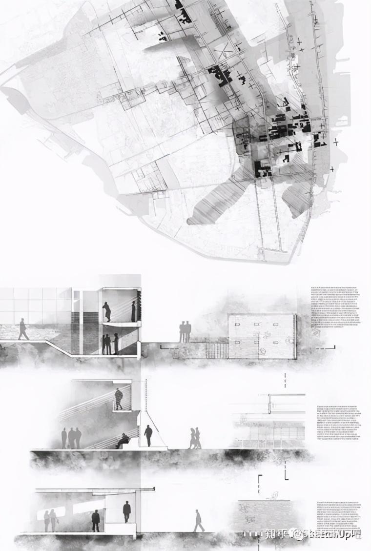 如何画出高端大气的建筑设计方案分析图?_50