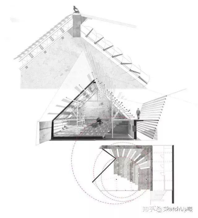 如何画出高端大气的建筑设计方案分析图?_56