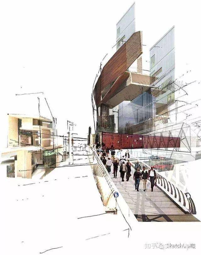 如何画出高端大气的建筑设计方案分析图?_58