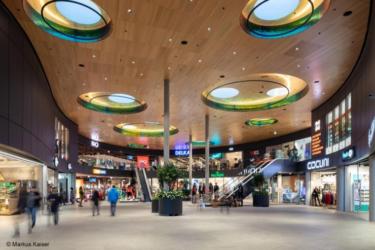 """""""让阳光洒进商场"""",绿色生态购物中心案例_1"""