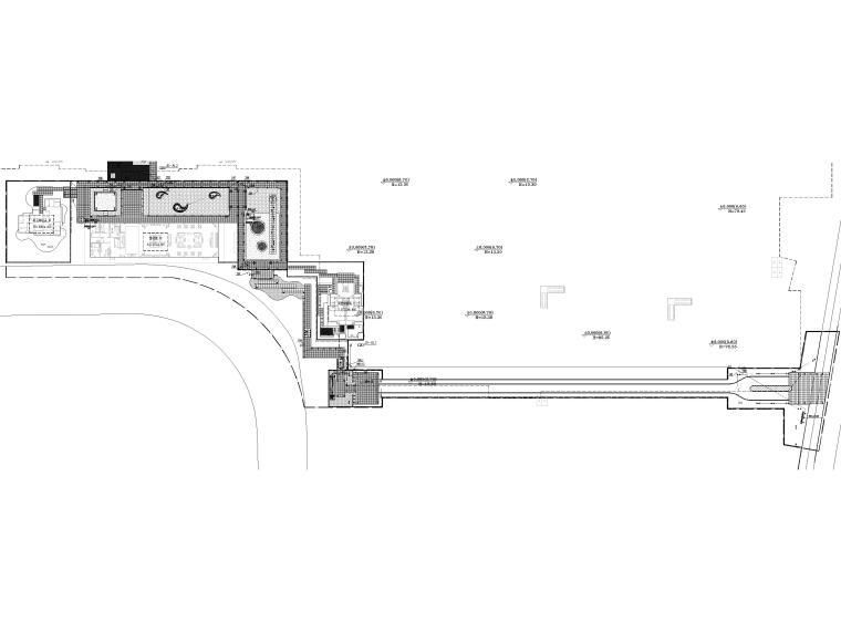 [浙江]居住示范区景观设计施工图+SU模型-照明平面图
