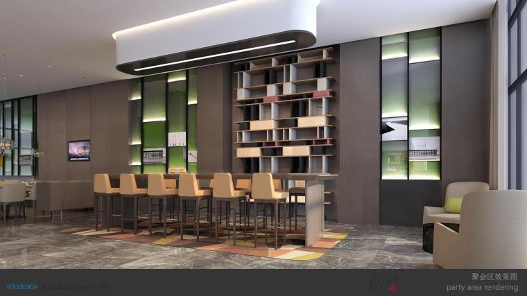 遂宁希尔顿欢朋酒店室内空间设计方案PDF版-第11页