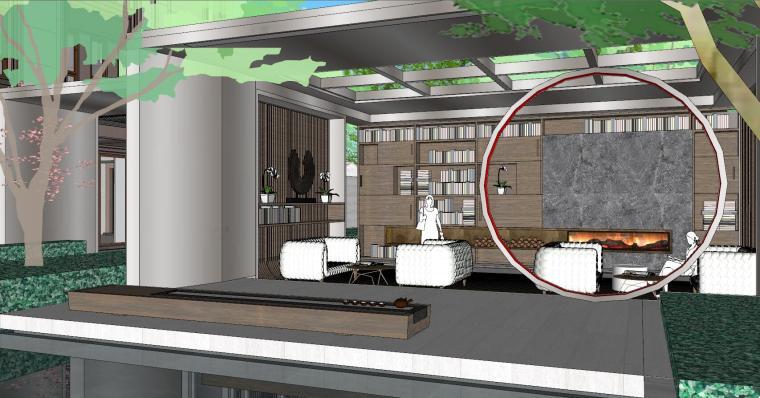 [上海]知名企业新中式璞悦名庭住宅景观模型-知名企业新中式璞悦名庭住宅景观模型 (3)