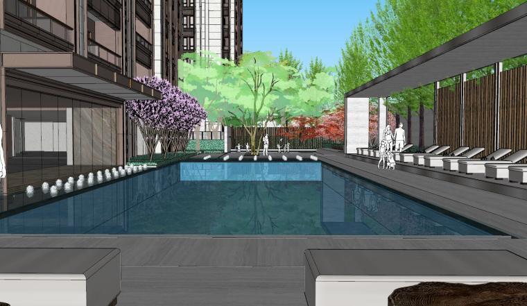 [上海]知名企业新中式璞悦名庭住宅景观模型-知名企业新中式璞悦名庭住宅景观模型 (8)