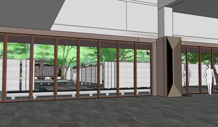 [上海]知名企业新中式璞悦名庭住宅景观模型-知名企业新中式璞悦名庭住宅景观模型 (12)