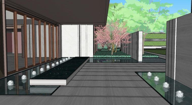 [上海]知名企业新中式璞悦名庭住宅景观模型-知名企业新中式璞悦名庭住宅景观模型 (13)