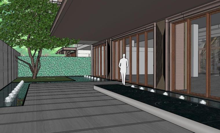 [上海]知名企业新中式璞悦名庭住宅景观模型-知名企业新中式璞悦名庭住宅景观模型 (14)