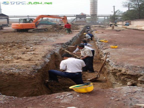 土方基础知识、工程量清单计价-导墙开挖