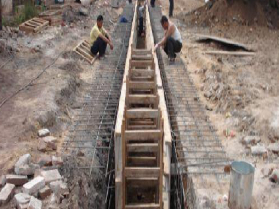 土方基础知识、工程量清单计价-导墙模板支撑