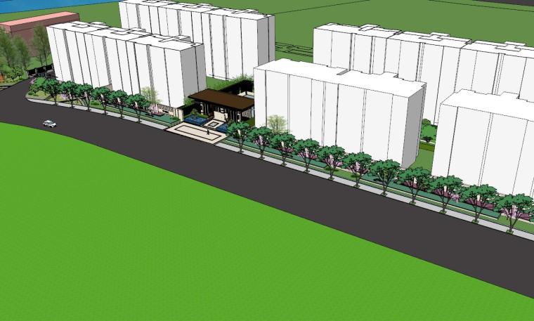 [浙江]新亚洲风顶豪地产示范区景观模型设计-新亚洲风顶豪地产示范区景观模型设计 (3)