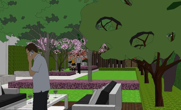 [浙江]新亚洲风顶豪地产示范区景观模型设计-新亚洲风顶豪地产示范区景观模型设计 (9)