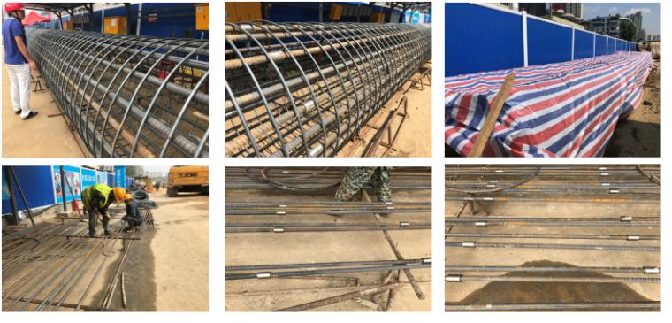 地铁车站施工常见质量问题及预防措施-围护桩钢筋笼