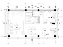 [沈阳]447㎡三层三居别墅装修施工图+3D模型