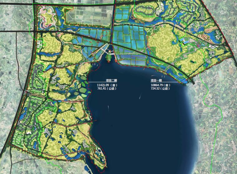 [湖北]孝感美丽乡村概念规划设计方案-总平面图