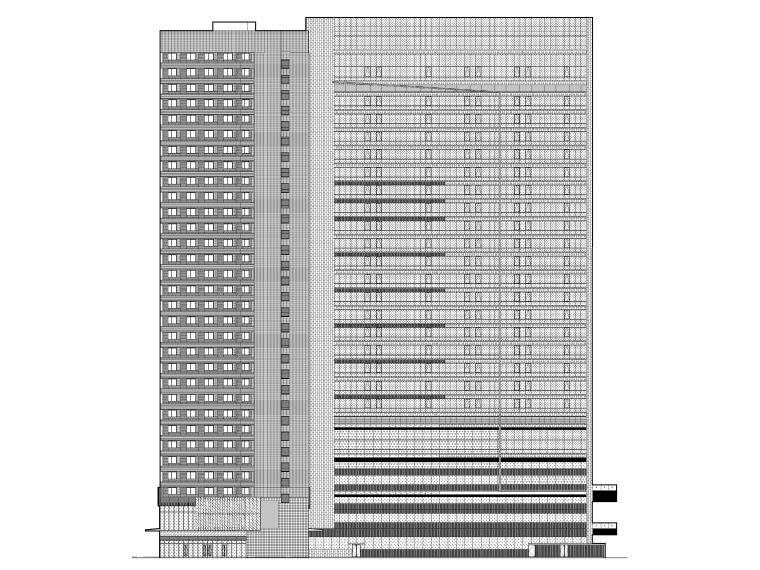 [成都]五星精品酒店建筑项目施工图+SU模型_1
