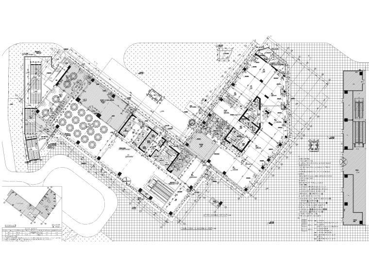 [成都]五星精品酒店建筑项目施工图+SU模型_3