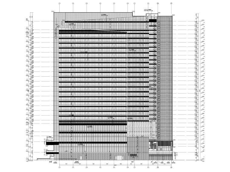 [成都]五星精品酒店建筑项目施工图+SU模型_11