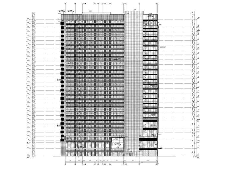 [成都]五星精品酒店建筑项目施工图+SU模型_13