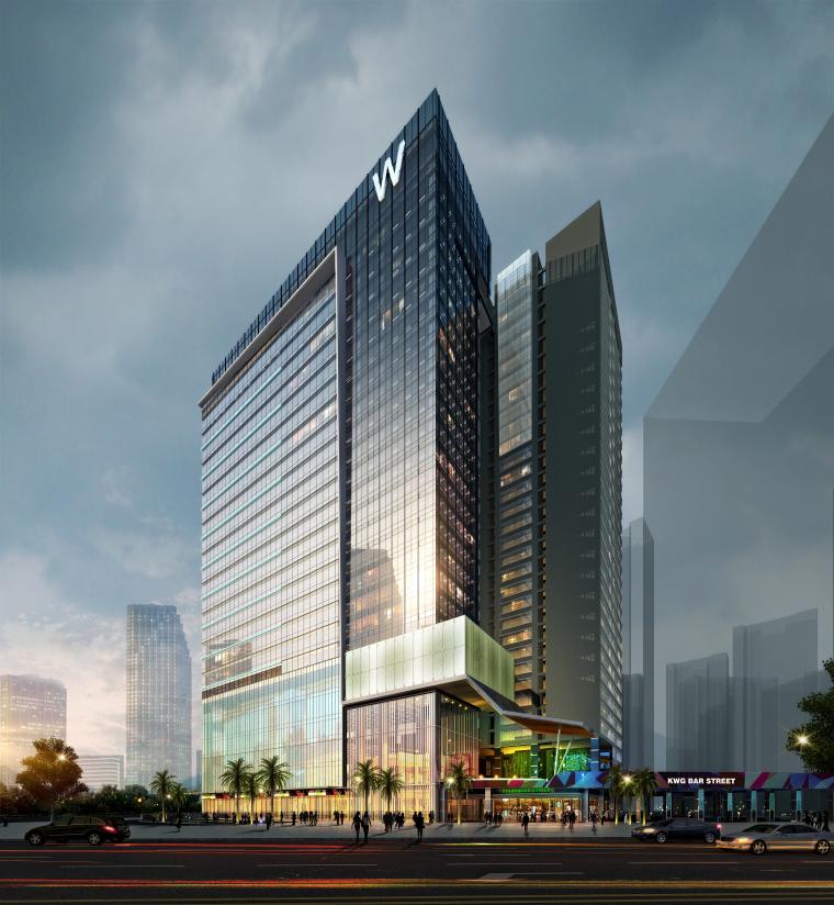[成都]五星精品酒店建筑项目施工图+SU模型_17