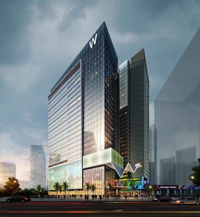[成都]五星精品酒店建筑项目施工图+SU模型_18