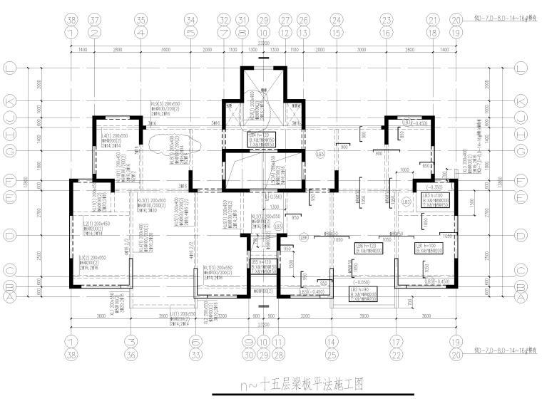 [贵州]3栋框支剪力墙结构商业住宅结施2020_1