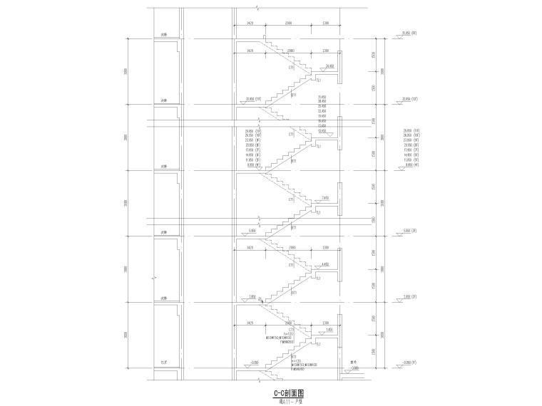 [贵州]3栋框支剪力墙结构商业住宅结施2020_7