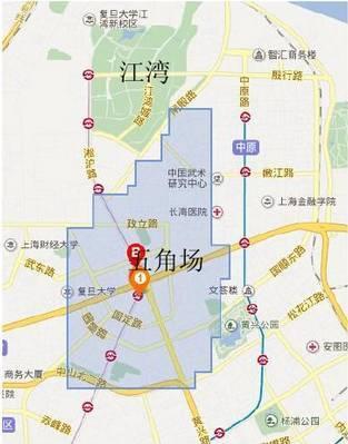 城市规划案例——上海杨浦区江湾-五角场_2